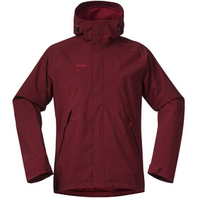 Bergans Ramberg Jas Heren, burgundy/red